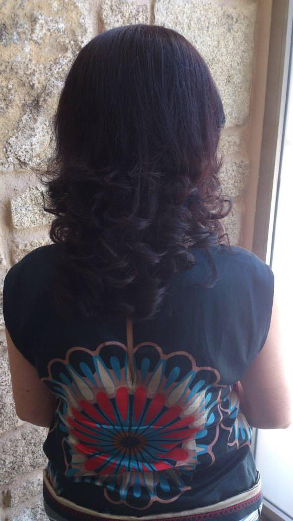 Verónica Troitiño.  Peinados y tocados